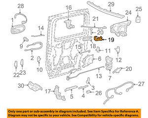 GM OEM Side Sliding Door-Roller & Bracket 25908840