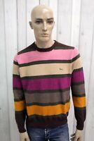 HARMONT&BLAINE Maglione Uomo Taglia L Lana Casual Man Pull Pullover Sweater