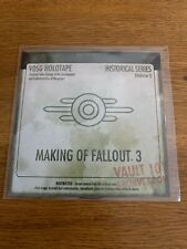Fallout 3 Vault Tec Making Of Blu-Ray PS3 Xbox 360 PC Promo