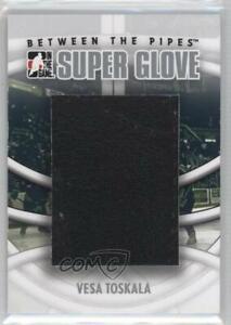 2008-09 ITG Between the Pipes Super Glove Vesa Toskala #SG-12
