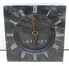 Vintage 1980s Caesars Palace Atlantic City Casino Marble Quartz Clock Made Japan