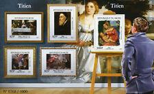 Niger 2015 MNH Titian 4v M/S + 1v S/S Art Paintings Stamps