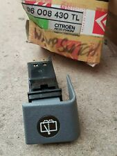Citroen BX Rear Wiper Wash Switch 96008430TL NEW GENUINE
