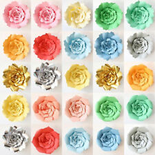 30/40cm Rose Large Paper Backdrop Rose Flowers Wedding Birthday Party Wall Decor