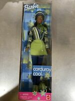 Mattel Rare African American  Corduroy Cool Barbie Doll 1999 NRFB 26107 (L5)