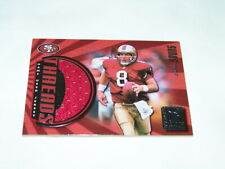 99 Donruss Elite Common Threads Steve Young 49ers Game Jersey Card 56 / 150