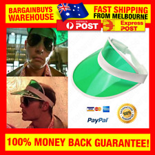Casino Poker Accountant Visor Fear and Loathing in Las Vegas Green Eyeshade