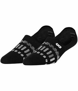 Pair of Thieves Mens Low Ear No Show Socks, Black, One Size