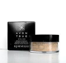 Avon Smooth Minerals Powder Foundation LIGHT BEIGE New & Boxed