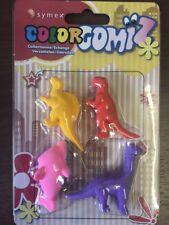 4pcs Children's Pencil Rubber Cake Eraser Food Drinks Shape Toy Stationery