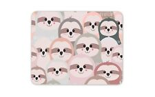 Cute Sloth Mouse Mat Pad - Funny Lazy Animal Boys Girls Gift PC Computer #8361
