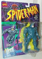 Spider-Man Animated Series Rhino w/Head Ramming Action - Toy Biz 1996