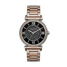 Michael Kors MK3356 Ladies Catlin Rose Gold Plated Watch