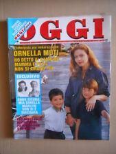 OGGI n°23 1994 Ornella Muti Mina Mazzini Sorella di Marilyn Pippo Paudo [CDP]