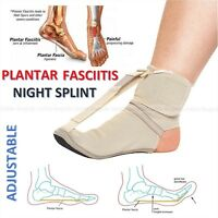 Adjustable Foot Brace Plantar Fasciitis Toes Sport Pain Fascia Night Toe Splint