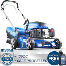 More details for petrol lawn mower self propelled mulching lawnmower 139cc 17