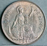 George VI Bronze Penny, 1948. Lustrous Uncirculated. No.4