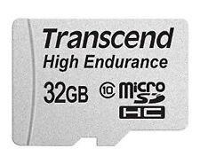 Transcend Information 32gb Micro Card With Adapter TS32GUSDHC10V
