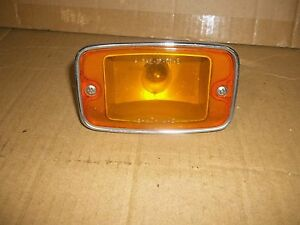 70 AMC GREMLIN TURN SIGNAL LAMP LIGHT PARKING LENSE FRONT