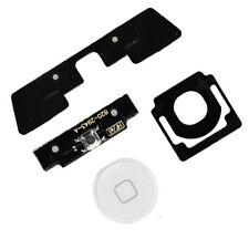 4 in 1 iPad 2 Menu Home Button Key Cap External + Internal Flex Cable Set White