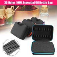 30 Bottle Essential Oil Case Carry Holder Storage Aromatherapy Hand Bag