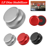 Aluminum Disc Stabilizer Weight Clamp Vibration Turntable LP Vinyl Record Player