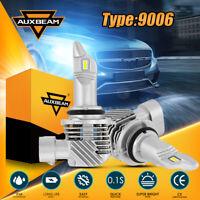 AUXBEAM LED Fog Light Bulbs 9006 HB4 6000K White 6400LM Headlight High Low Beam