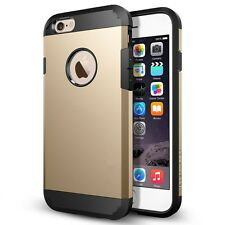 Premium Armor Case for iPhone 6S 6 Slim Back Cover + 1pcs. Screen Protector