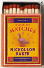 A Box Of Matches, By Nicholson Baker,in Used but Acceptable condition