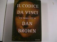 DAN BROWN:IL CODICE DA VINCI.MONDADORI-2003 PRIMA EDIZIONE GARANTITA!buonissimo