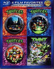 TEENAGE MUTANT NINJA TURTLES 4 FILM COLLECTION BLU RAY 4 DISC SET