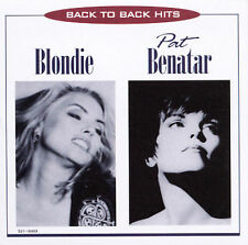 Back To Back Hits (EMI) by Pat Benatar/Blondie (CD, Apr-1996, Capitol/Special)