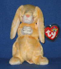 TY GRACE the PRAYING BUNNY BEANIE BABY - MINT with MINT TAGS