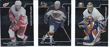 2001-02 BE A PLAYER SIGNATURE SERIES COMPLETE SET W/ UPDATE 1-250 - DATSYUK RC