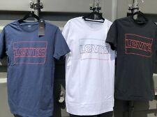 Mens Levi's Cotton TShirts, Levi T Shirt With Large Logo.