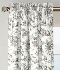 Country Curtains Lenoxdale Toile Rod Pocket Panels