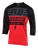 Troy Lee Designs 2019 Ruckus Bolt Jersey Red/Black All Men's Sizes