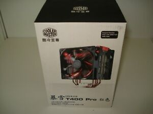 Cooler Master Blizzard T400 PRO CPU Air Cooler w/ Dual XtraFlo 120mm Red LED Fan