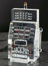 New Crystal World Super Slot Machine Figurine 5""