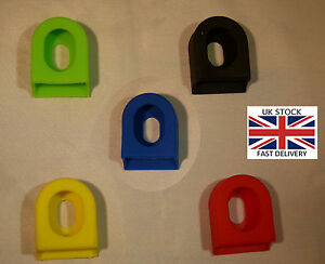 2X Silicone Crank Arm Protector Case - VARIOUS COLOURS - UK STOCK - FREE P&P.
