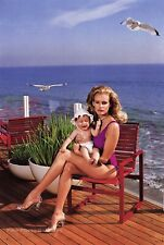 1984 Vintage DARYL HANNAH Movie Actress By HELMUT NEWTON Baby Photo Art 11X14