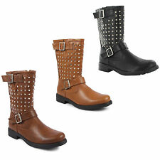 Zip Casual Mid-Calf Boots for Women