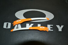 Oakley  Jawbone 9089 temples side arms aste Atomic orange white icons