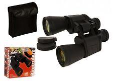 10 X 50 HIGH POWER OPTICAL BINOCULARS CASE CAPS BAG STRAP BIRDWATCHING RACING