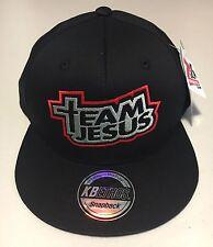 Team Jesus - Flat Snapback Cap / Hat / Gorra