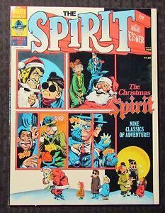 1976 THE SPIRIT Warren Magazine #12 FVF 7.0 Author F. Paul Wilson FPW Collection