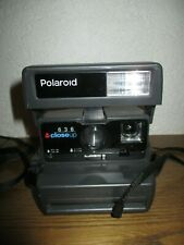 Sofortbildkamera Polaroid Closeup 636 mit Trageband