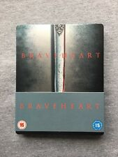 BRAVEHEART - PLAY.COM EXCLUSIVE STEELBOOK BLU RAY AND DVD