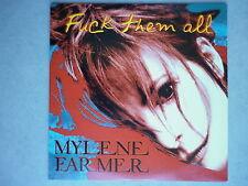 Mylene Farmer cd Promo Fuck Them All