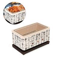 4 In 1 Japanese Korean Ceramic Hibachi BBQ Table Grill Yakitori Barbecue
